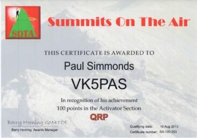 VK5PAS Activator