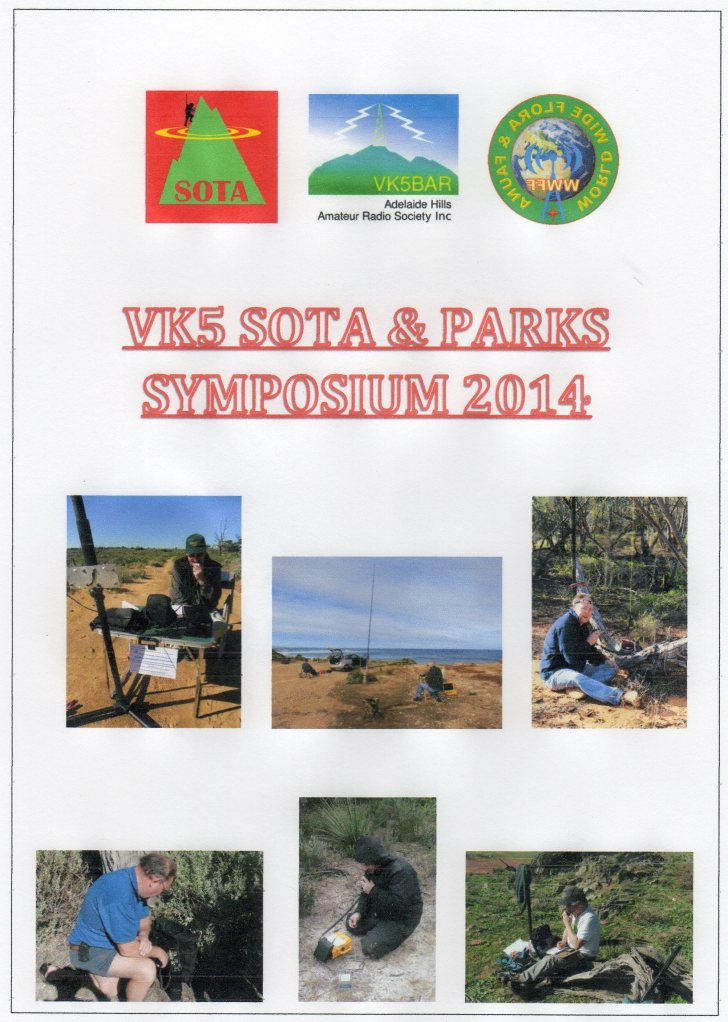 VK5 SOTA & Parks symposi105