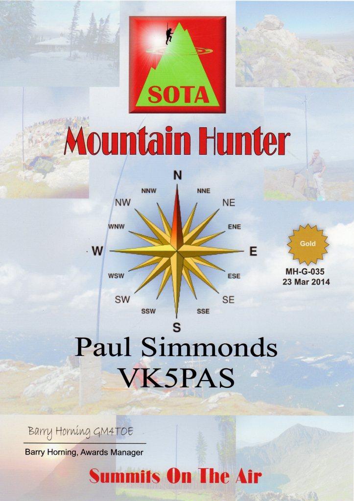Gold Mountain Hunter SOT174