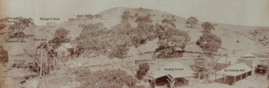 A view of the mine, c. 1875