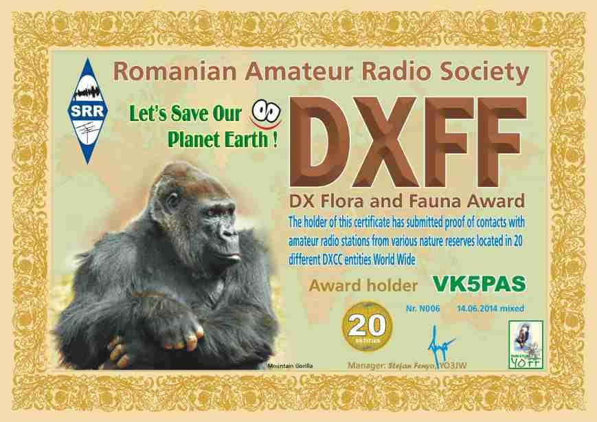 DXFF 20 VK5PAS 2014 N006 M