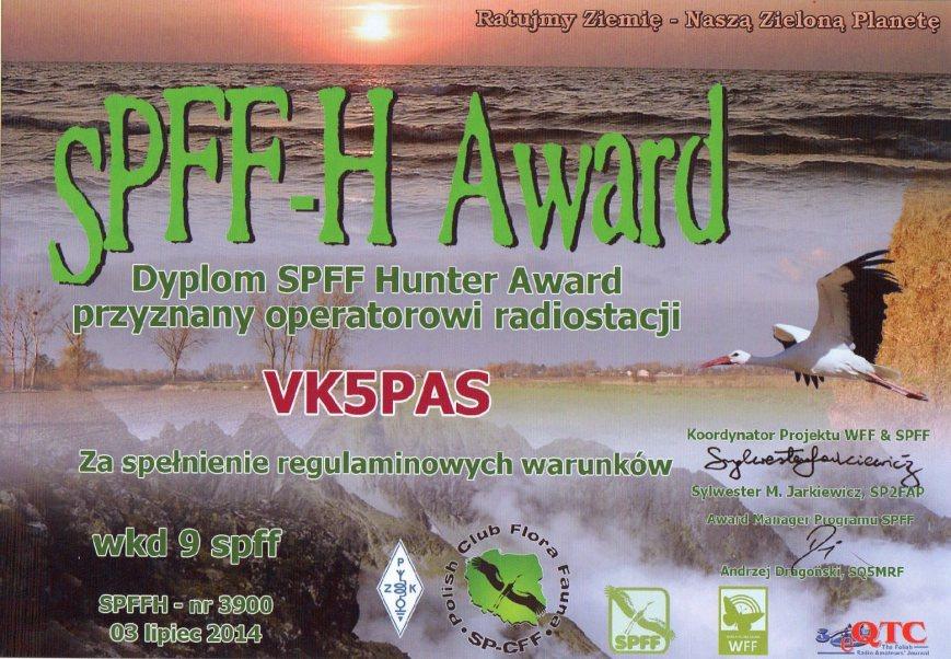SPFF-H Award305