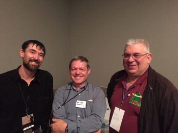 Gerard VK2IO, Andrew VK1DA, & Peter VK3PF