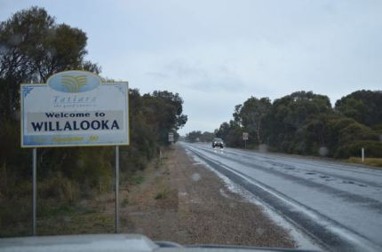 The small town of Willalooka