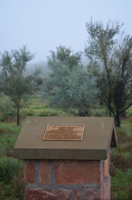 The Wyacca memorial