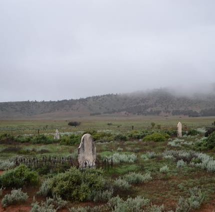The old Wilson cemetery