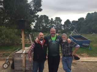 Bill, myself, and John VK5FMJC