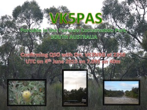 VK3NRG Fairview Conservation Park