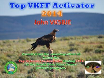 VK5BJE Top VKFF 2014