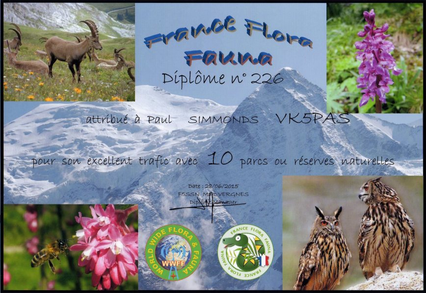 French Flora Fauna award111