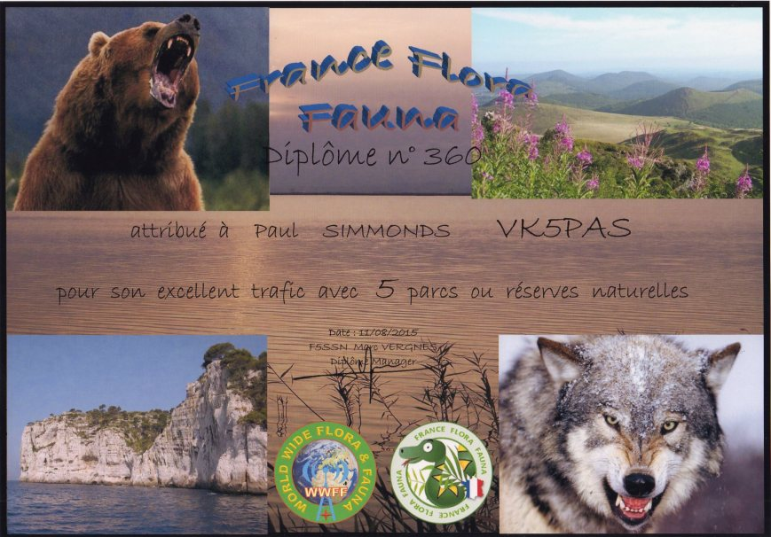 French Flora Fauna award112