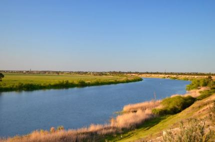Looking back towards Tailem Bend