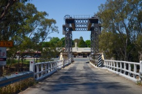 The Tooleybuc bridge