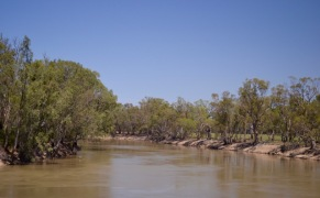 The Murray River at Tooleybuc