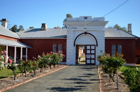 The old Hay Gaol, now a museum
