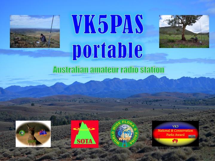 VK5PAS portable