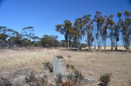 The old Rosy Pine school site