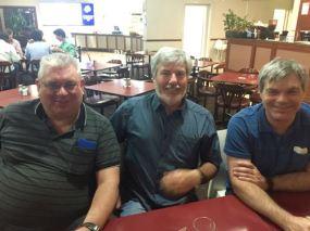 L-R: Peter VK3PF; Warren VK3BYD & Allen VK3HRA