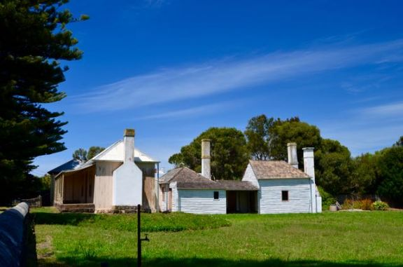 One of the oldest houses in Victoria, in Regent St Port Fairy