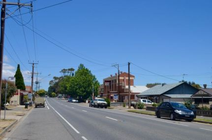 The Main Street of Myponga