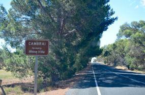 Entering Cambrai