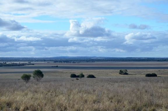 View to the north west towards Mount Barker (my home QTH)