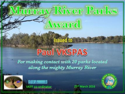 VK5PAS Murray River 20