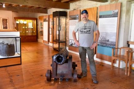 Cannon from the Bounty