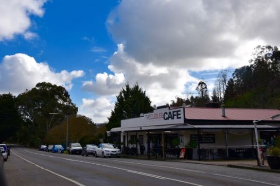 The main street of Cudlee Creek