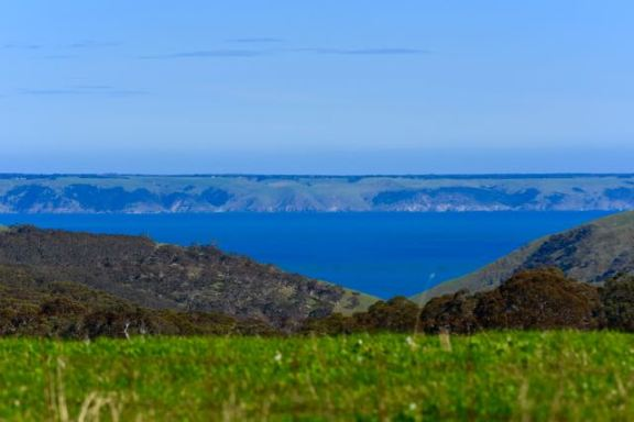 Looking out towards the eastern side of Kangaroo Island