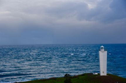 The Cape Jervis lighthouse