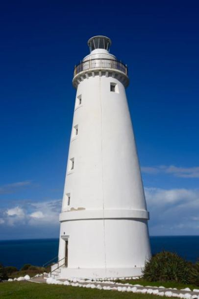 The impressive Cape Willoughby lighthouse