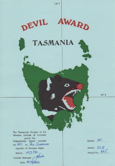 tasmania-devil-award