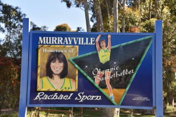 Murrayville, the home town of Rachael Sporn
