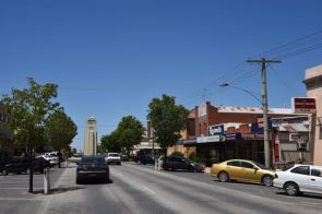 The main street of Kerang