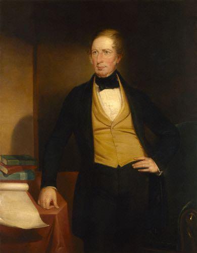 replica by John Michael Crossland,painting,circa 1853