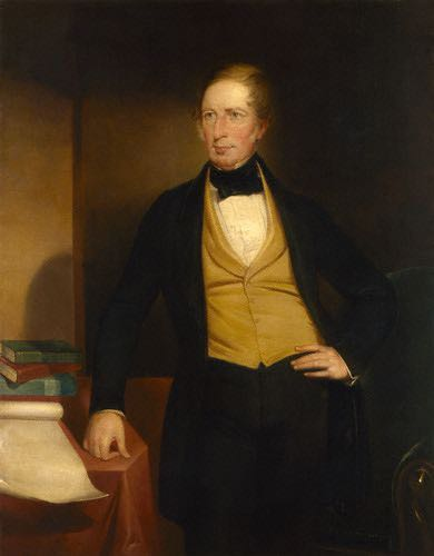 replica by John Michael Crossland,painting,circa 1853