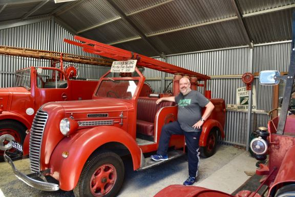 Burra's 2nd motor fire engine