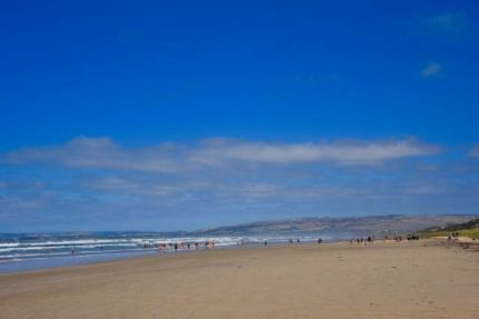 Goolwa beach, looking west