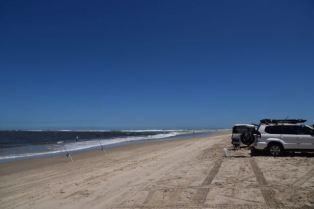 The beach near the Murray Mouth