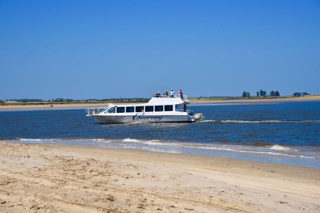 Coorong cruise boat