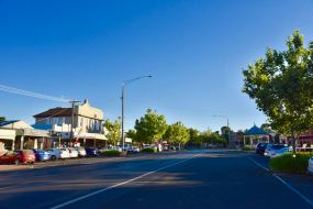 The main street of Creswick