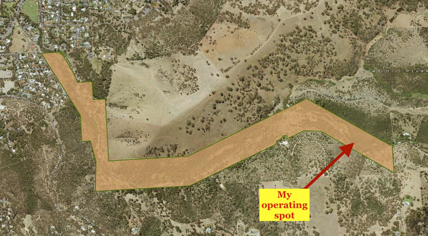 Brownhill Creek Recreation Park VKFF-1688 | vk5pas