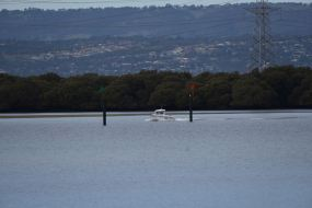 Angus Inlet, looking towards the northern suburbs of Adelaide