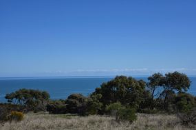looking west towards Yorke Peninsula