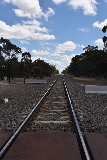 The Adelaide-Melbourne railway line