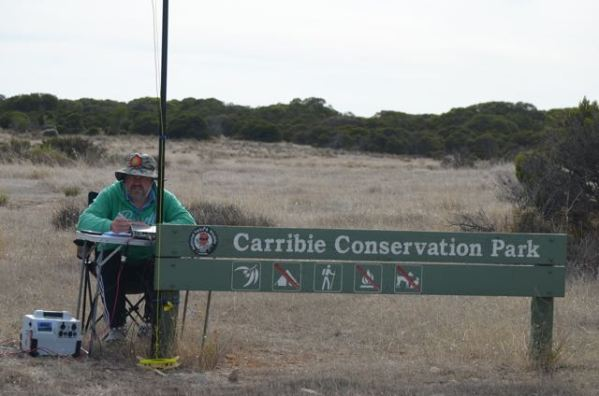 Operating in the Carribie Conservation park