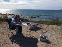 On air in the Innes National Park