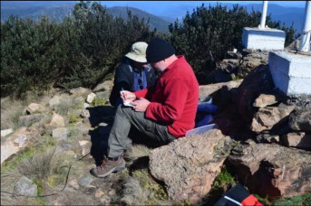 On air at Mount Coree VK1/ AC-023 and Namadgi National Park VKFF-0377