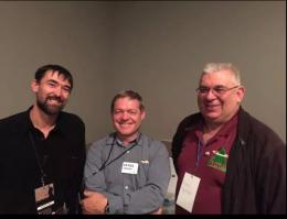 Gerard VK2IO, ANdrew VK1DA and Peter VK3PF